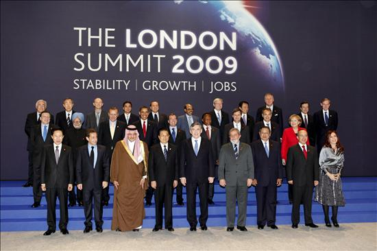 Foto de familia The London Summit