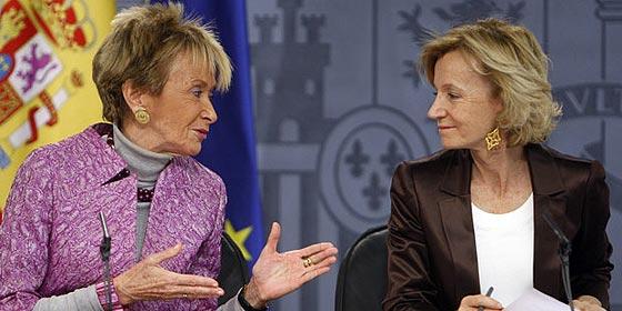 De la Vega y Salgado, Vicepresidentas del Gobierno