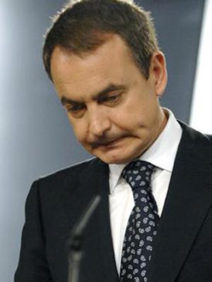 El presidente José Luis Rodríguez Zapatero
