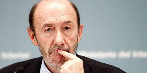 Alfredo Pérez Rubalcaba, Vicepresidente y Mº de Interior