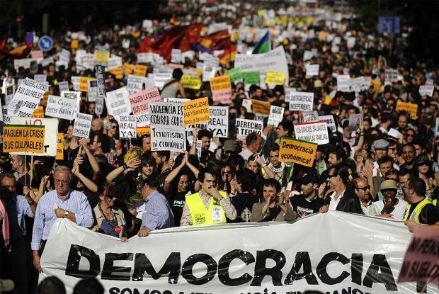 Manifestación 15-M