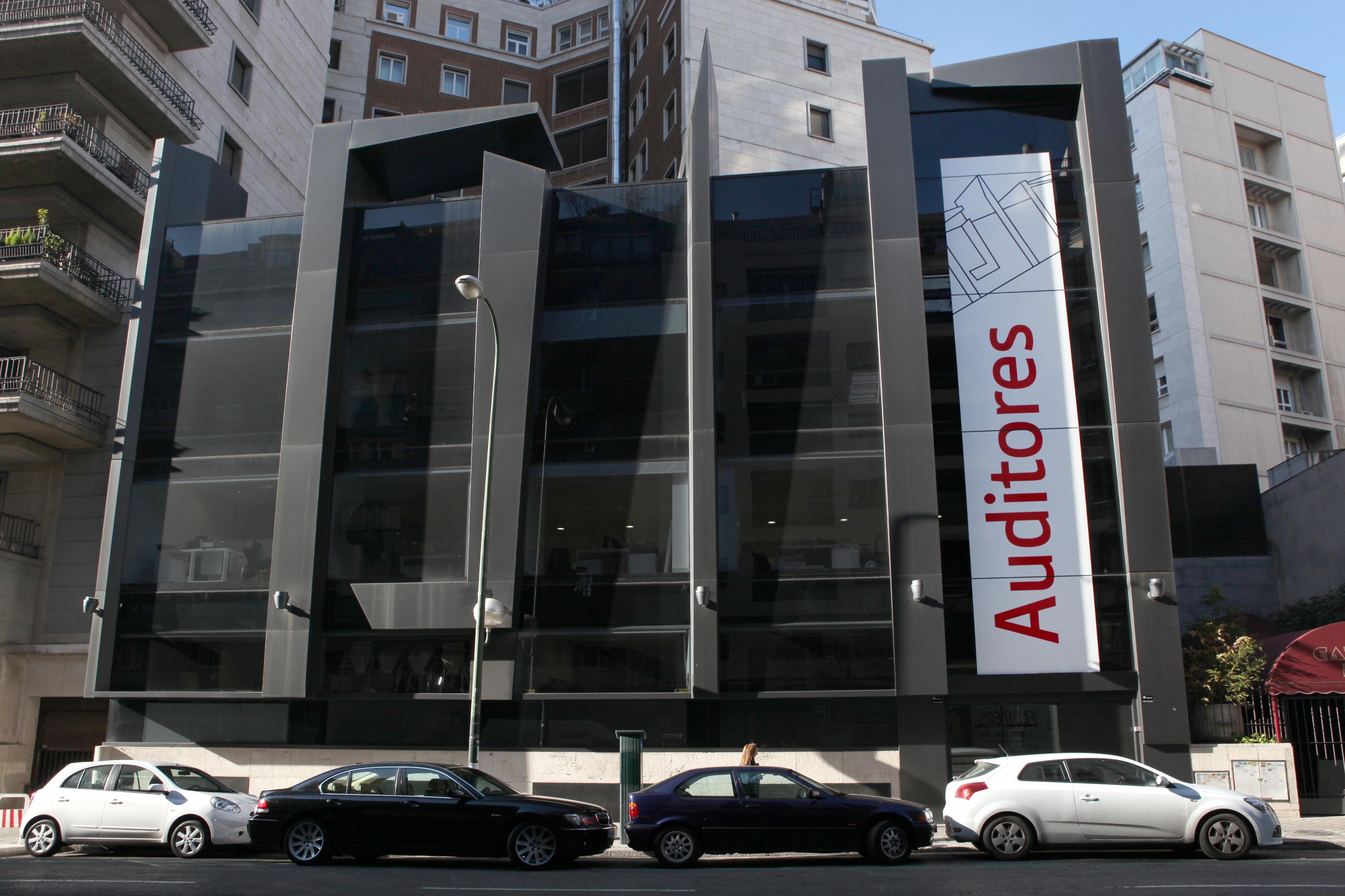 Fachada de la nueva sede de los Auditores