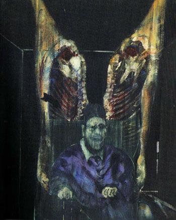 Pintura de Francis Bacon, 1954