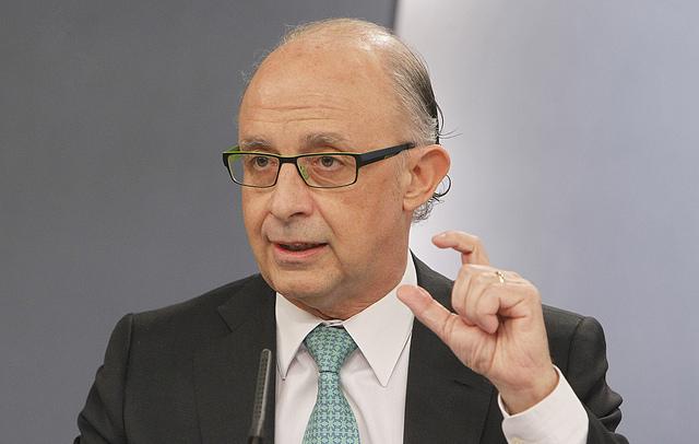 El ministro de Hacienda Critóbal Montoro