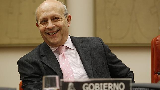 El ministro Jose Ignacio Wert