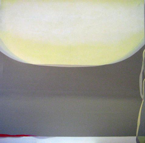 Teresa Muñiz. Sin título - Acrílico sobre tela 190 cm x 190 cm. Año: periodo 2000-2006