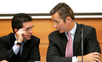 Iñaki Urdangarin y Jaume Matas