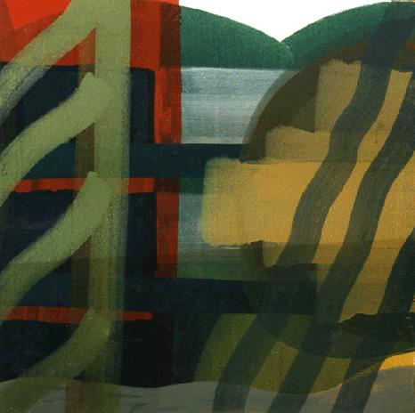 Teresa Muñiz. Óleo sobre tela. 150 cm x 150 cm. Año 1996