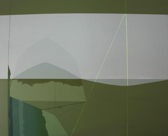 Teresa Muñiz. Acrílico sobre lienzo. 120 cm x 120 cm. Año 2011