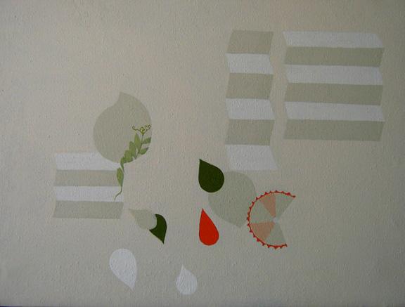 Teresa Muñiz. Sin título. Acrílico sobre lienzo 33cm x 46cm. Año 2010