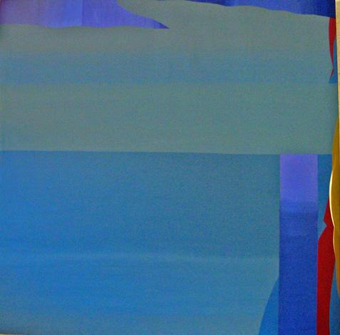 Teresa Muniz. Sin título. Acrílico sobre tela 200 cm x 200 cm