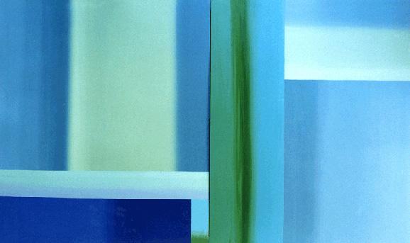 Teresa Muñiz. Noctiluca. Óleo sobre tela 250 cm x 250 cm