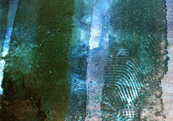 Teresa Muñiz. Líquido circulante. Óleo sobre tela 150 cm x 130 cm. Año 1991