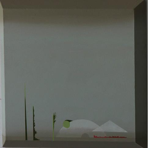 Teresa Muñiz. Sin título. Acrílico sobre lienzo 40 cm x 40 cm Año 2011
