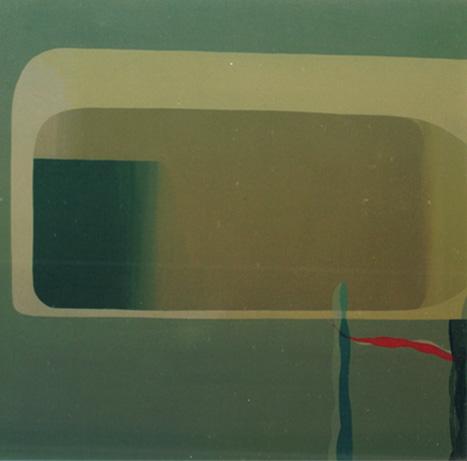 Teresa Muñiz. Sin título. Acrílico sobre lienzo 70cm x 100cm