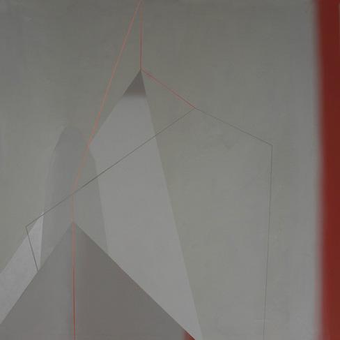 Teresa Muñiz. Sin título acrílico sobre lienzo 90 cm x 90 cm Año 2011