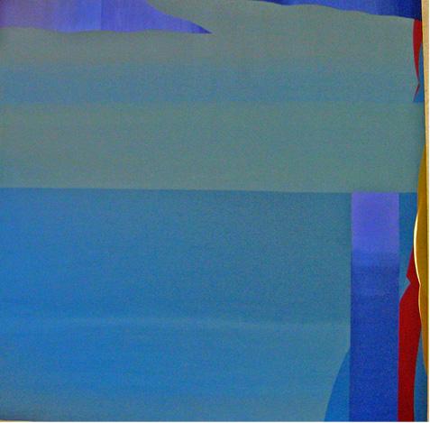Teresa Muñiz. Sin Título. Acrílico sobre tela 200 cm x 200 cm