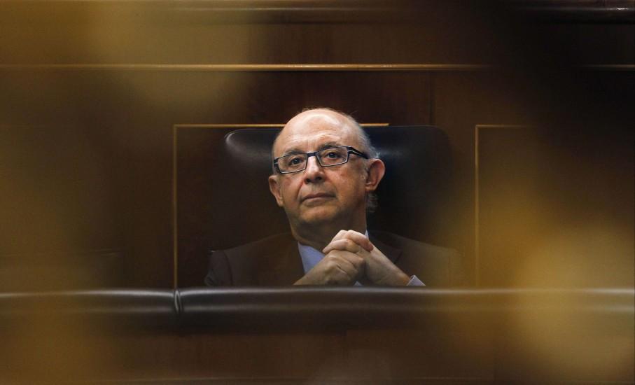 Cristóbal Montoro en el Congreso de los Diputados (EFE)