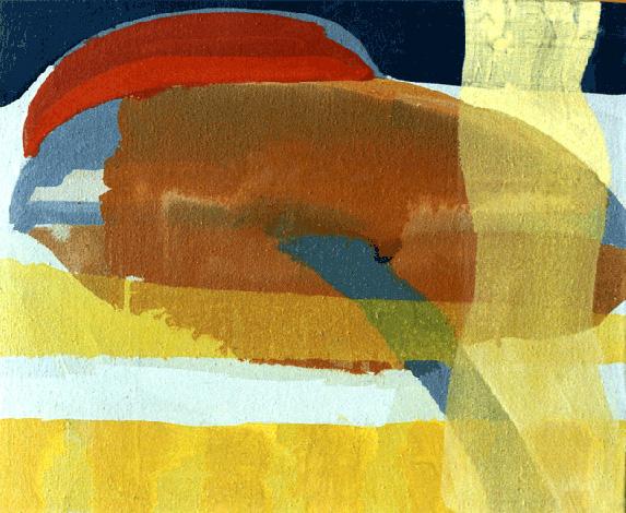 Teresa Muñiz. Sin título, óleo sobre tela 48 cm x 48 cm, 1996