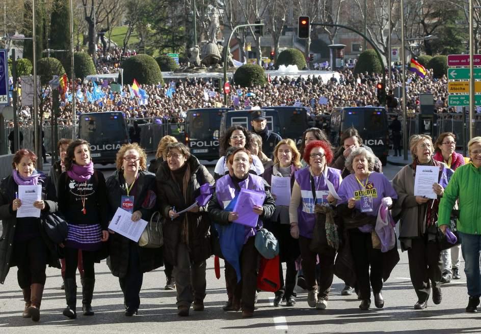 Representantes de El Tren de la Libertad este 1 de Febrero en Madrid