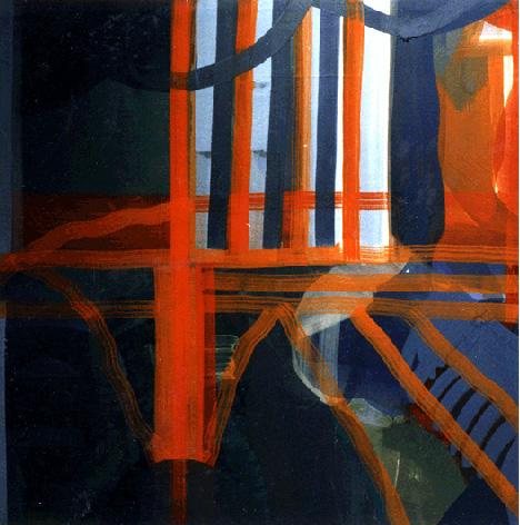 Teresa Muñiz. Sin Título. 200 cm x 200 cm Año 1996