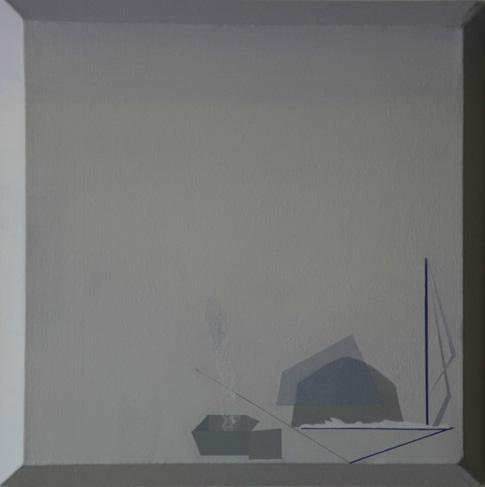 Teresa Muñiz. Sin título acrílico sobre lienzo 40 cm x 40 cm Año 2011