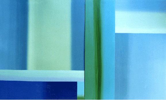 Teresa Muñiz .Noctiluca. Óleo sobre tela 250 cm x 250 cm