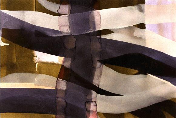 Teresa Muñiz. De la serie México. Acuarela sobre papel 45 cm x 35 cm Año 1996