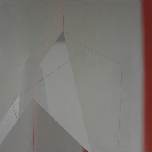 Teresa Muñiz. Acrílico sobre lienzo 90 cm x 90 cm Año 2011