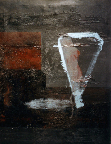 Teresa Muñiz. Óleo sobre tela 80 cm x 120 cm Año 1988