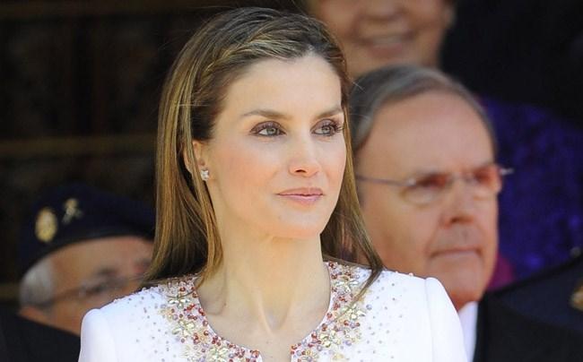 La reina Letizia el 19 de junio durante la proclamación de Felipe VI