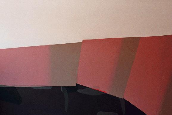 Teresa Muñiz. Intuir la Unidad. Acrílico sobre tela 195 cm x 130 cm. 2006