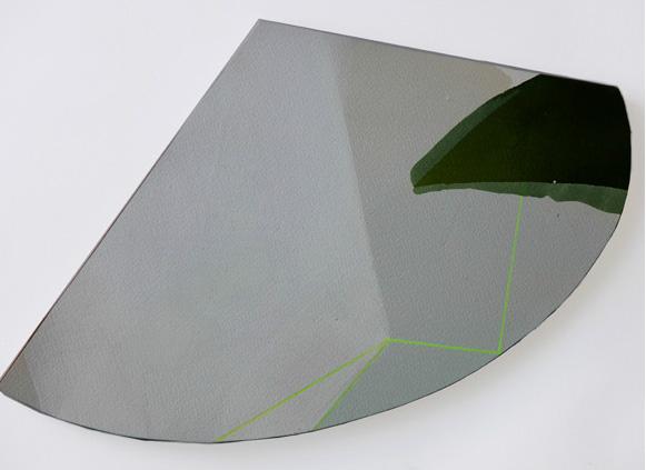Teresa Muñiz. Acuarela sobre papel 39 cm x 24 cm Año 2011