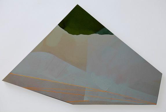 Teresa Muñiz. Acuarela sobre papel 28 cm x 43 cm Año 2011