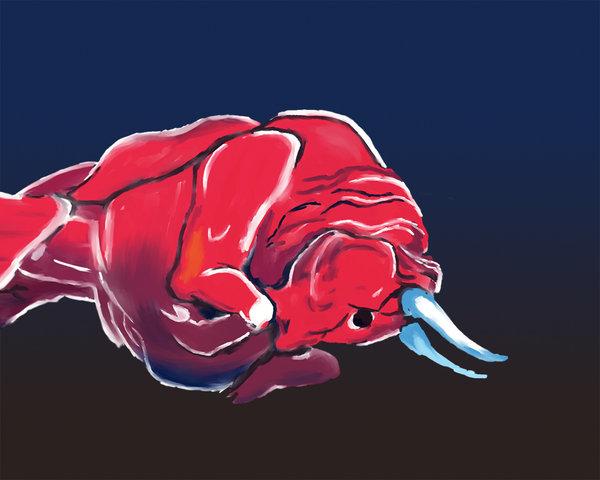 Detalle de la imagen de la escudería Toro Rosso de Red Bull