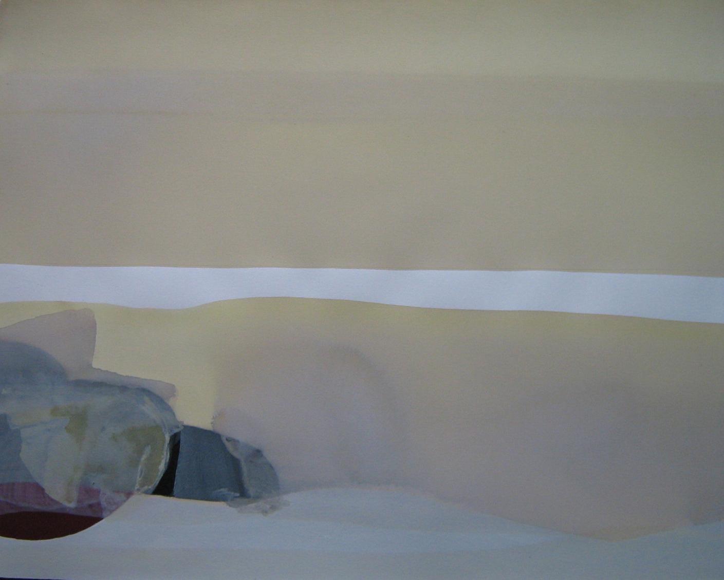 Teresa Muñiz. Acuarelas sobre papel Fabriano 100 X 0,70 mts Año 2008