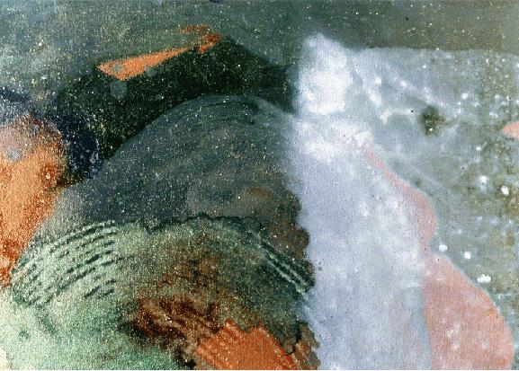 Teresa Muñiz.Líquido circulante.óleo sobre tela.150x130.1991