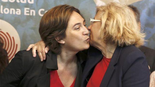 Ada Colau Manuela Carmena.www.eldiario.es