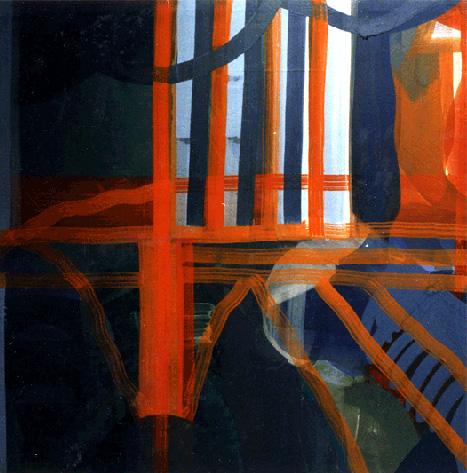 Teresa Muñiz.Óleo sobre tela.200x200.1996